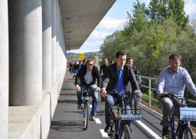 Daljinske kolesarske poti, 2012