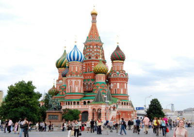 Sankt Petersburg in Moskva, 2008