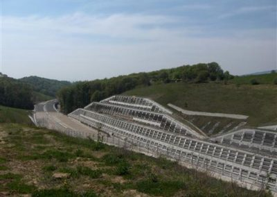 Ogled del na gradbišč AC, odsek Pesnica-Slivnica 2009